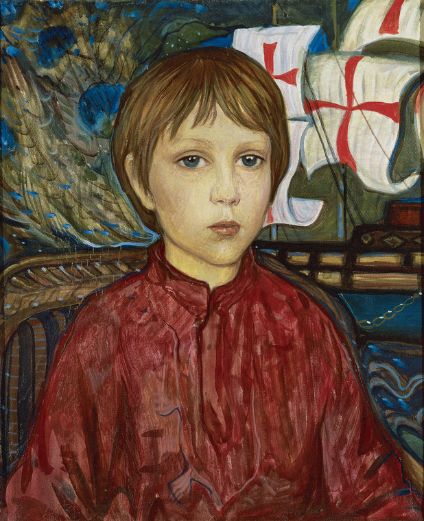 Vanya. Portrait of the Artist's Son