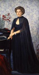 Portrait of Singer E.Obraztsova