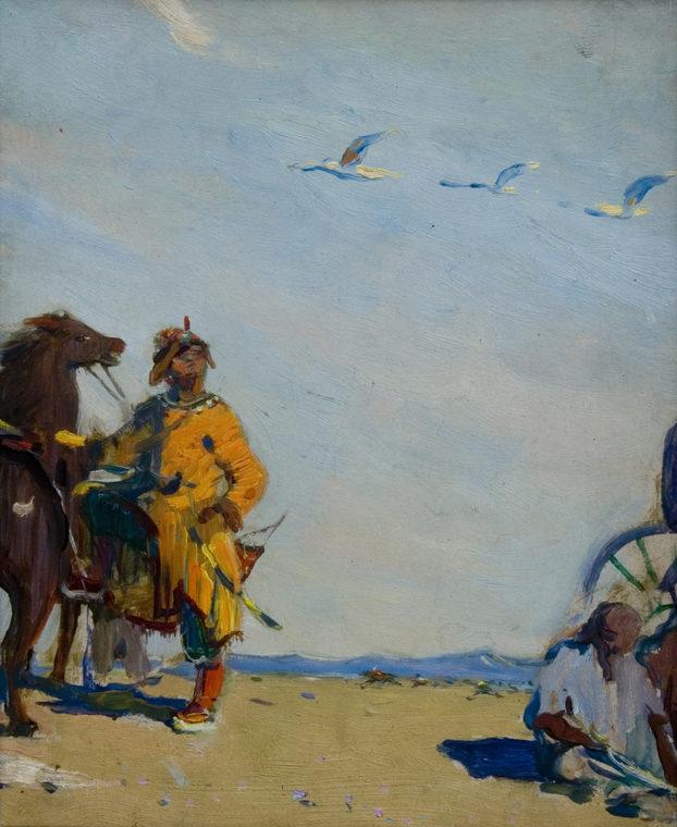 В монгольских степях