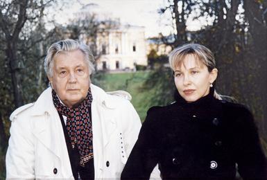Илья Глазунов и Инна Орлова. Павловск
